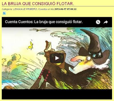 LA BRUJA QUE CONSIGUIÓ FLOTAR