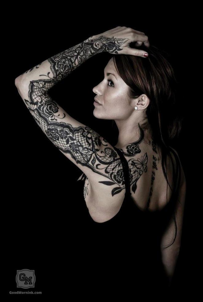 susanne yvonn pettersen lace female tattoofemale tattoos gallery. Black Bedroom Furniture Sets. Home Design Ideas