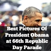 Best Pictures Of President Obama at 66th Republic Day Parade