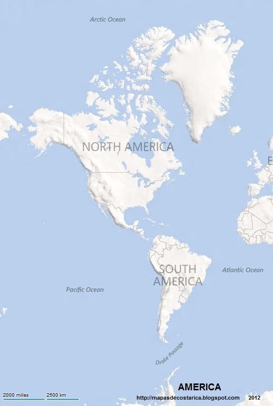 AMERICA  MAPAS DE