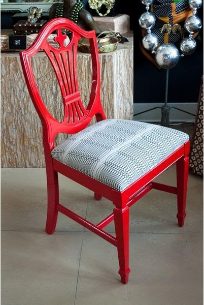 B Home Decor Trend Watch Painted Dining Room Chairs