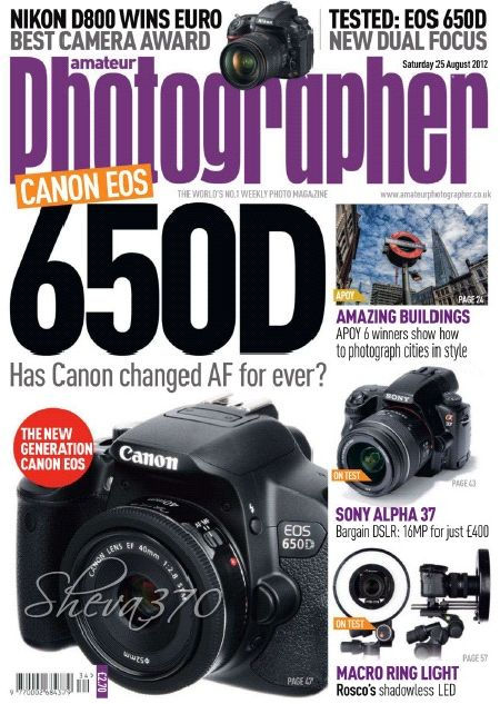 Amateur Photographer – 25 August 2012