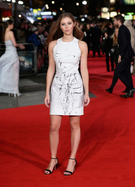Actress, @ Hermione Corfield - 'Pride And Prejudice And Zombies' European Premiere in London
