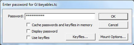 TrueCrypt - Password