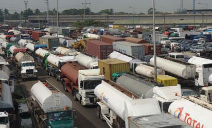 Image result for Ogun govt restricts movement of trucks, tankers