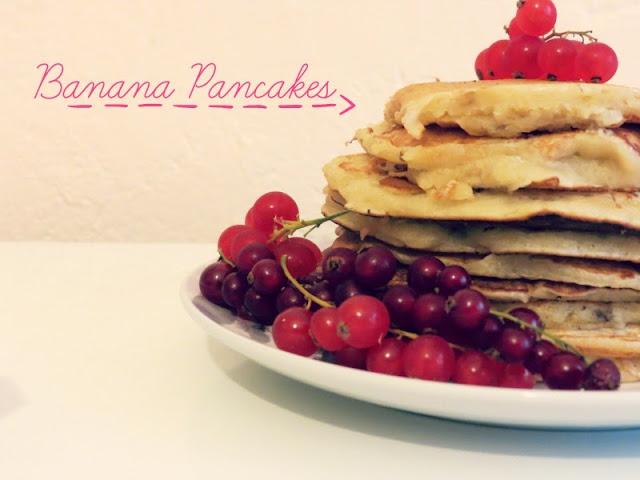 Recette: Banana Pancakes