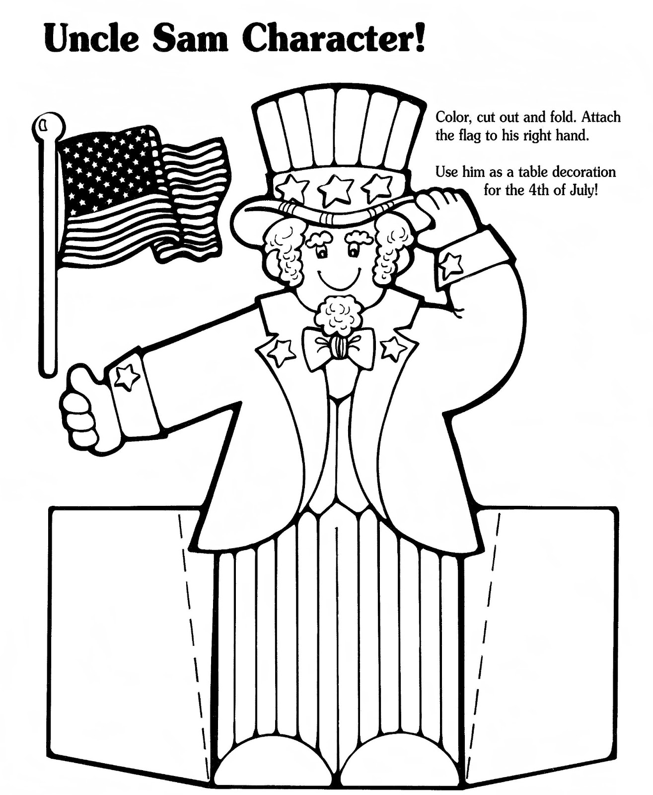 May The Fourth Be With You Coloring Pages: Mostly Paper Dolls Too!: 4th Of July