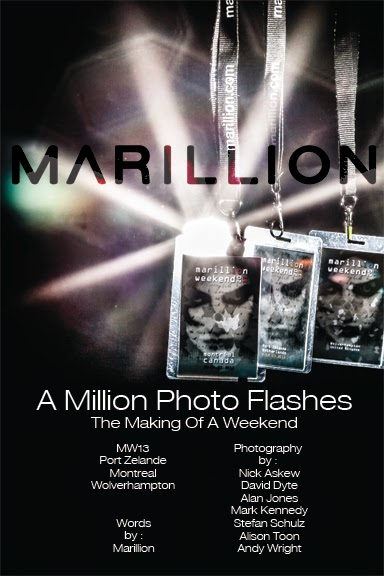 Marillion, three weekends, seven photographers, a million flashes of inspiration, and one book. Coming soon.