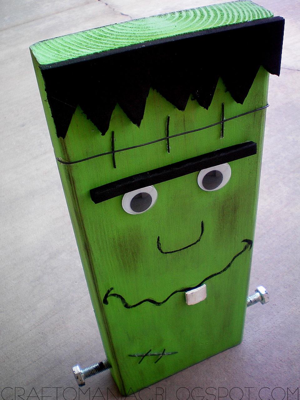 Meet. Mr. Block Head Franky & Meet. Mr. Block Head Franky - Craft-O-Maniac