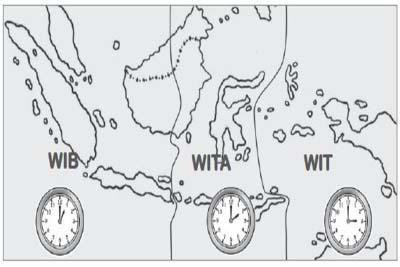 Cara Mengecek Jam Sekarang Kota-kota di Indonesia
