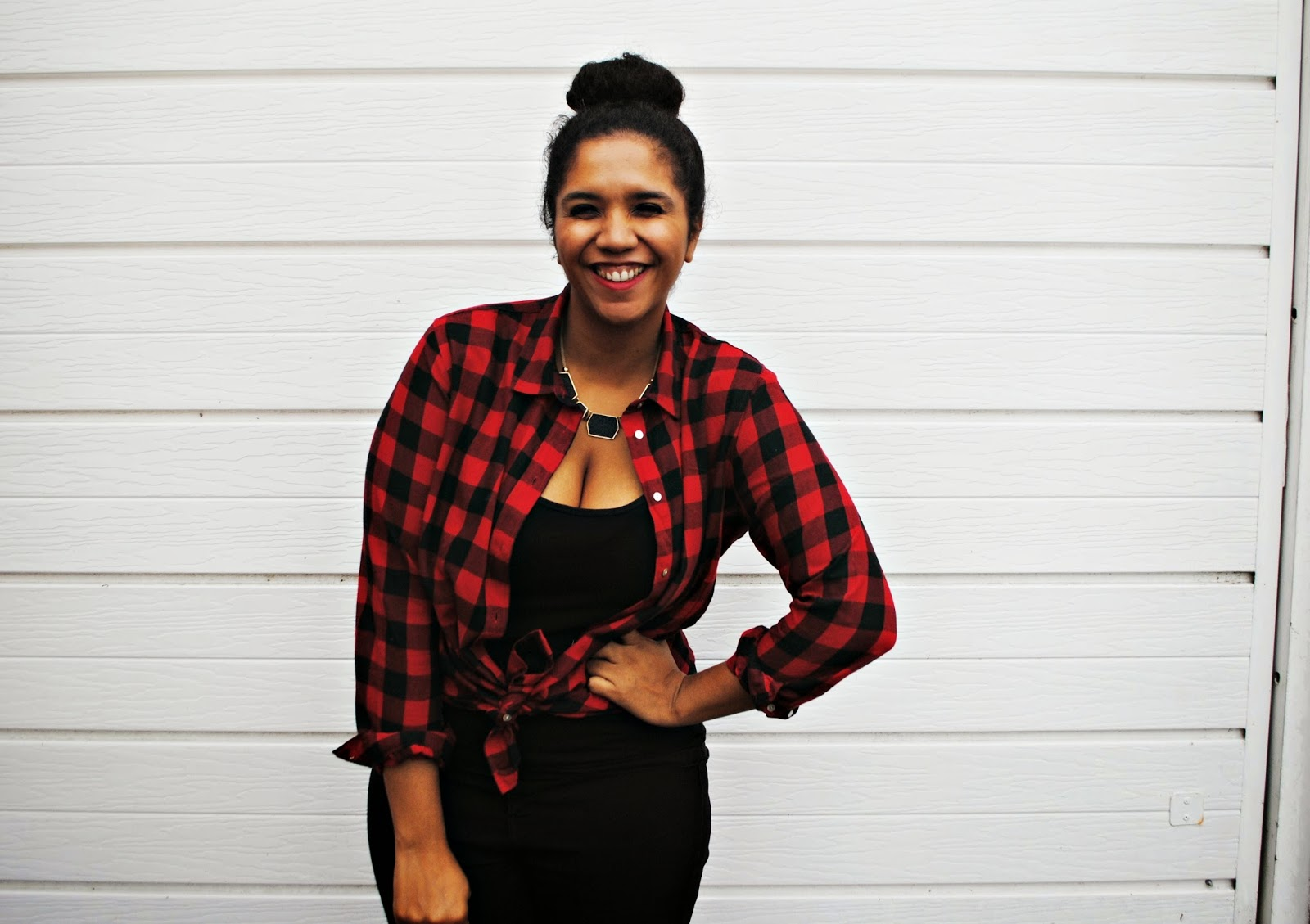 new ways to wear a lumberjack shirt