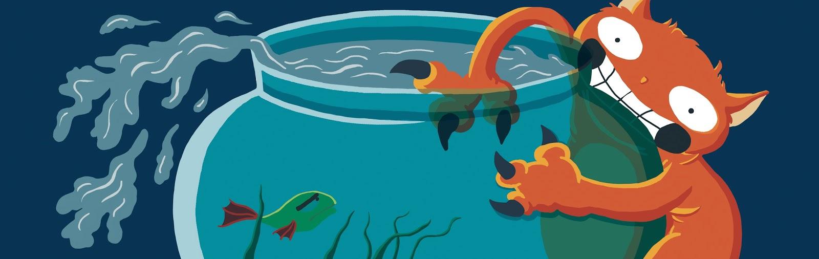Cat & Fishbowl - Jen Haugan Animation & Illustration
