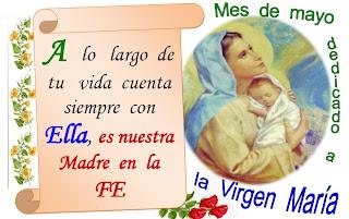 Mes de Mayo de la Virgen María