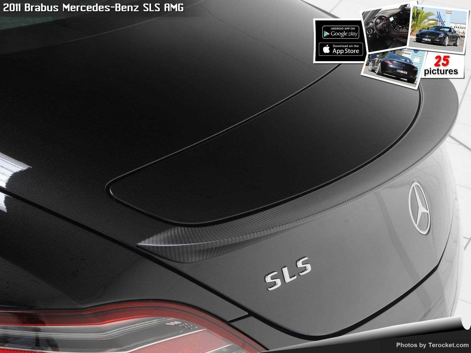 Hình ảnh xe ô tô Brabus Mercedes-Benz SLS AMG 2011 & nội ngoại thất