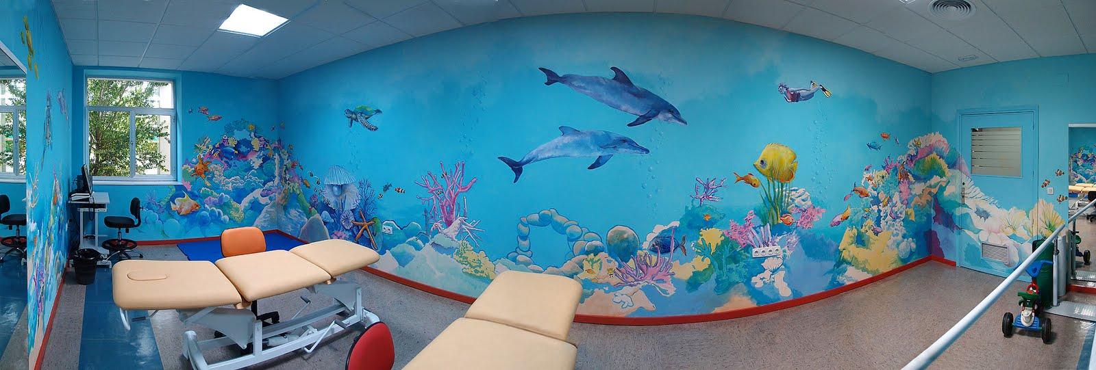 Creavertikal arte sobre el muro trabajos sobre el muro for Decoracion de puertas infantiles