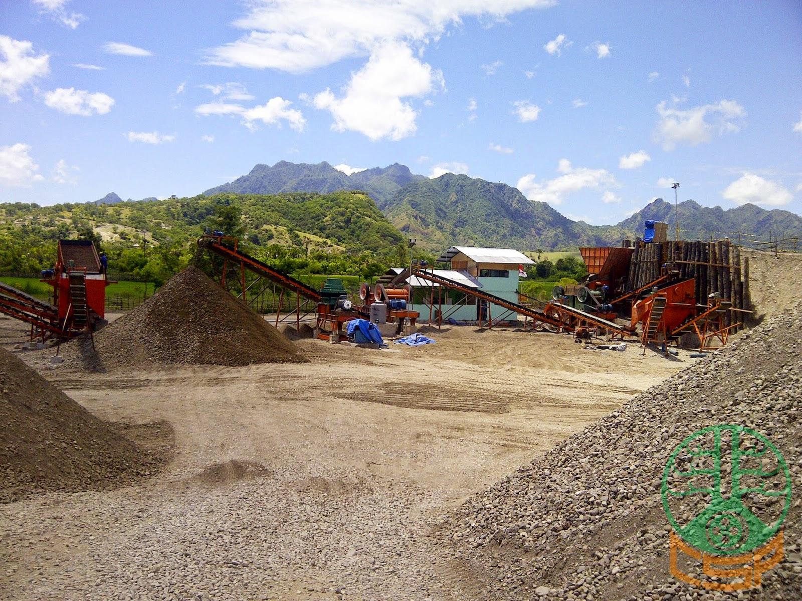 Project CSP Stone Crushing Plant 100-120 Tph PT Hutama Karya Wilayah 7, Oe Cusse - Timor Leste (03)