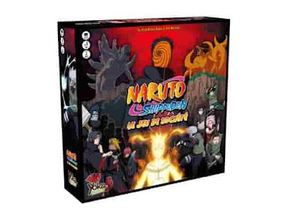 """ناروتو شيبودن لعبة مستوحاة من المانجا الشهيرة. قدمت قبل بضعة أشهر من قبل علامة   """"Yoka Board Games""""،  اللعبة متوفرة أخيرا على موقع Tsume وفي محلات متخصصة."""
