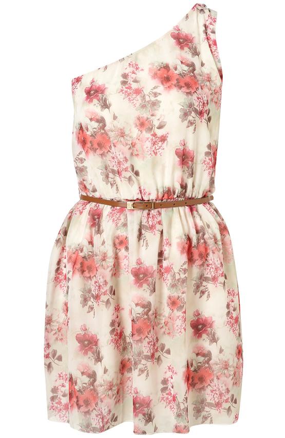 vestidos de escote asimétrico verano 2011