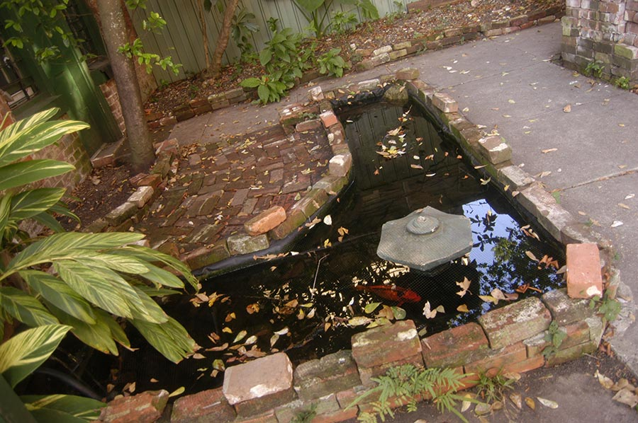 1000 images about koi pond on pinterest backyard for Brick fish pond