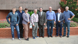 The Polish delegate met with CMIT staff.