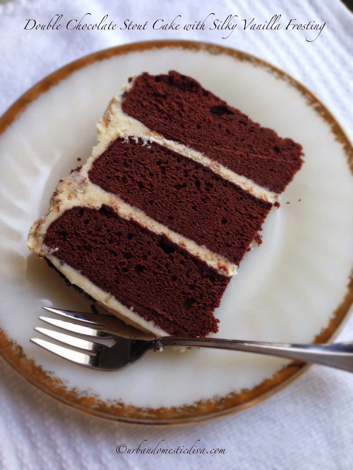 ... Diva: RECIPE: Double Chocolate Stout Cake with Silky Vanilla Frosting