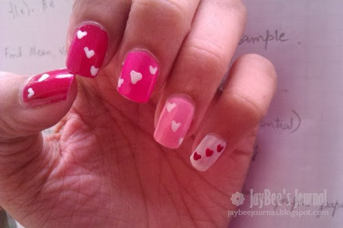 Valentine's Day Nail Art Design