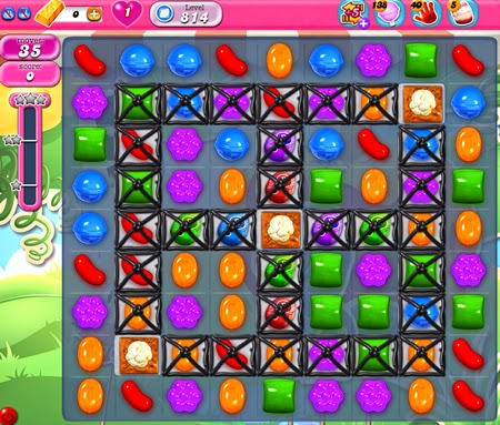 Candy Crush Saga 814