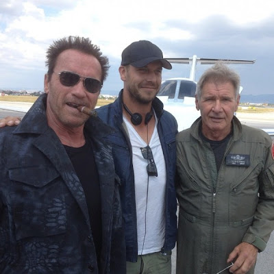 The Expendables 3 Harrison Ford Arnold Schwarzenegger