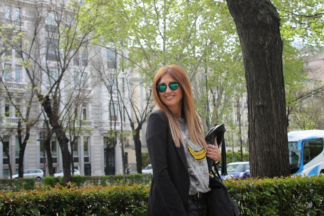 Carmen Hummer, Blog de Moda, Blooger, Baggy Pants, Look, The Hip Tee, Backpack, glasses