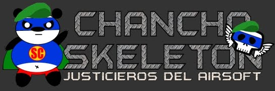 Chancho y Skeleton, justicieros del Airsoft