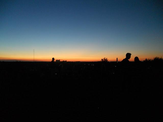Berlin berg Sonnenuntergang