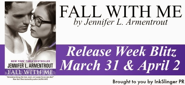 Release Week Blitz: Fall With Me by Jennifer L. Armentrout