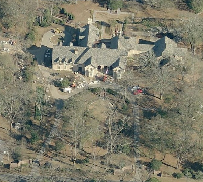 Duck Commander and Hit TV Star Willie Robertson's Home in Monroe, LA