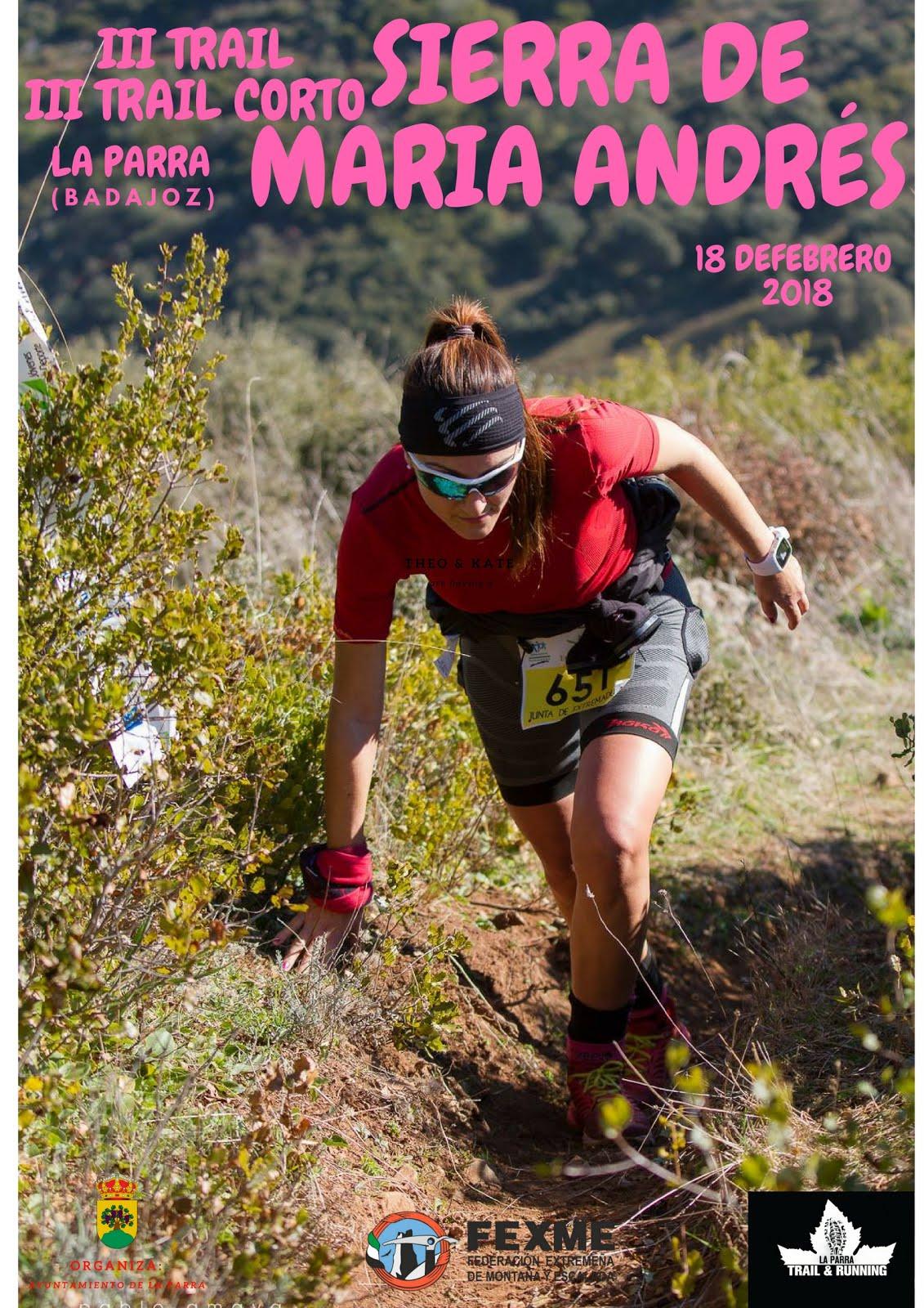 Trail sierra de Mª Andrés
