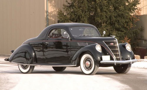 World of classic cars lincoln zephyr world of classic for 1936 lincoln zephyr three window coupe