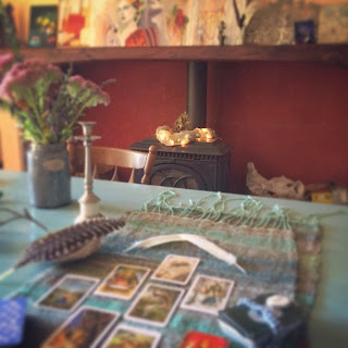 Galia Alena, tarot reading
