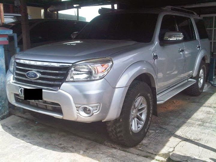 Mobil Di Jual Bontang : Ford Everest 2011 TDCi 4x4 manual