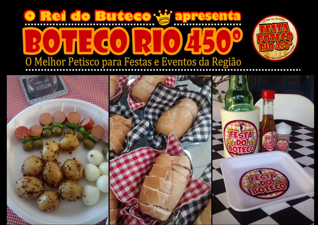 Festa Boteco Rio 450º