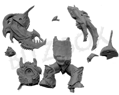 Chaos mutilators and a gallery of alternative models