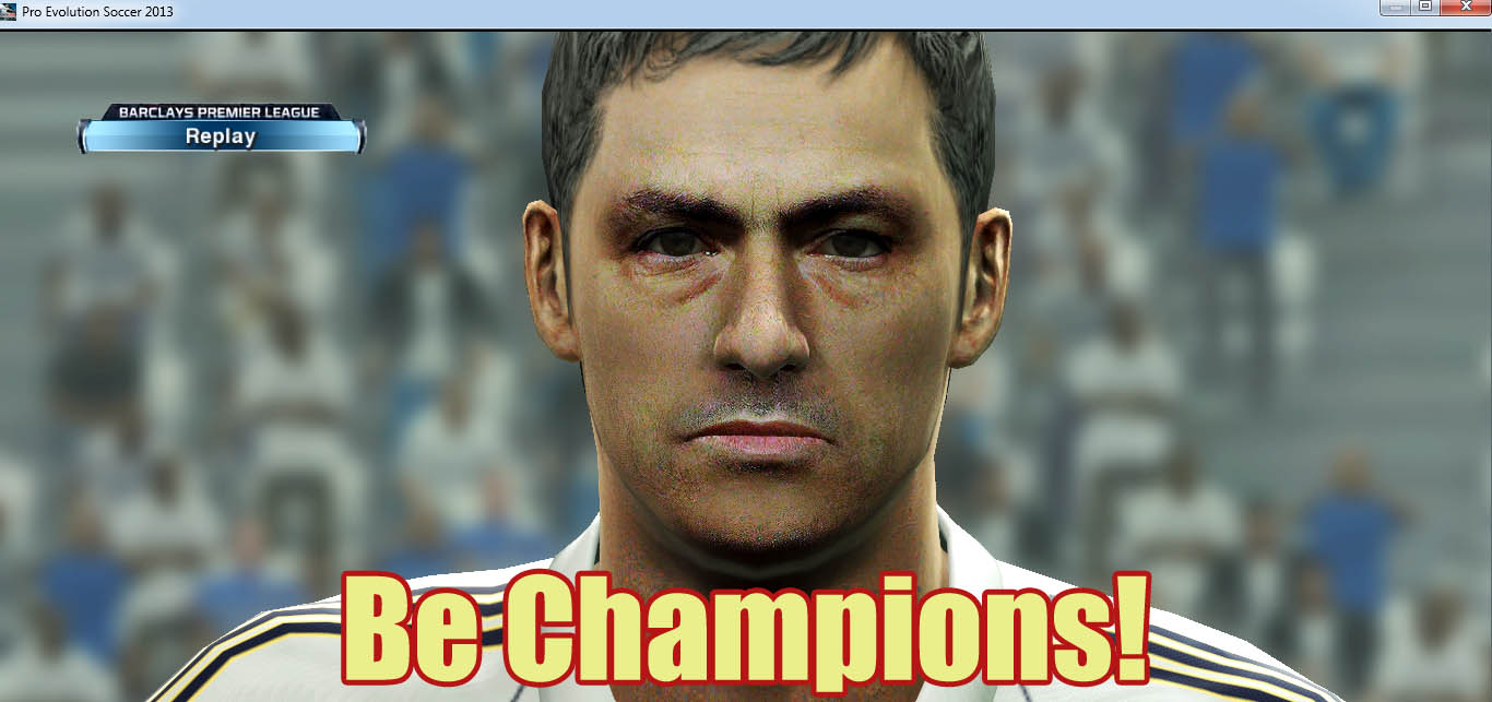 Download Face Jose Mourinho PES 2013 by Zimon