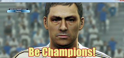 Face Jose Mourinho PES 2013 by Zimon