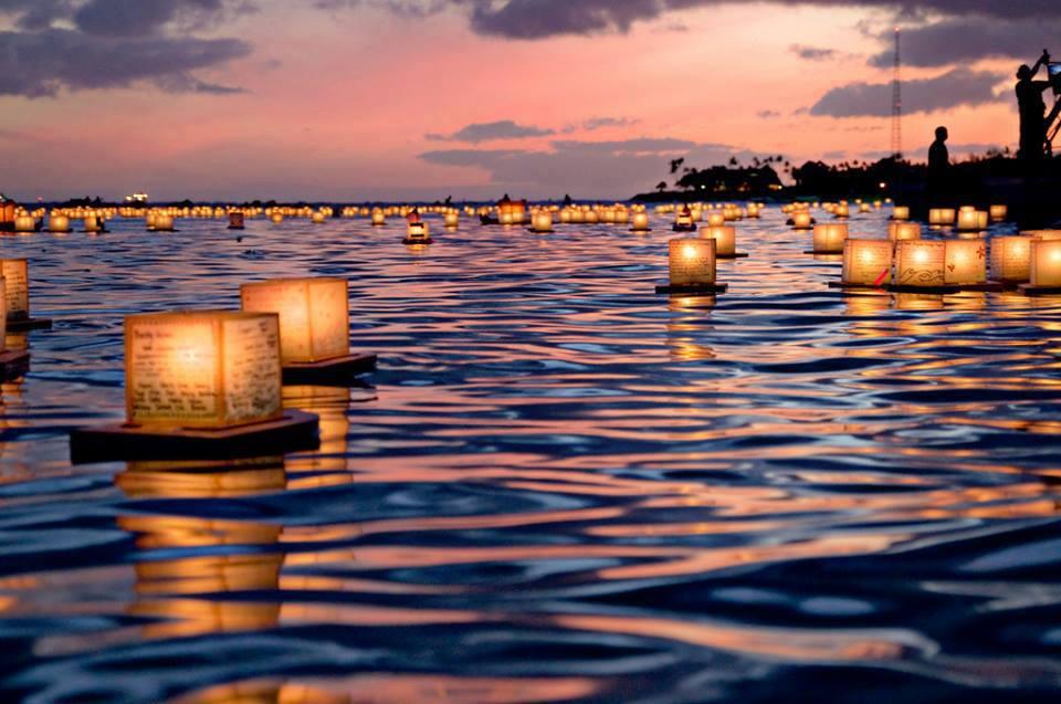 Artistic Land Floating Lantern Festival Honolulu Hawaii