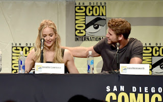 Comic con 2015 Hunger games