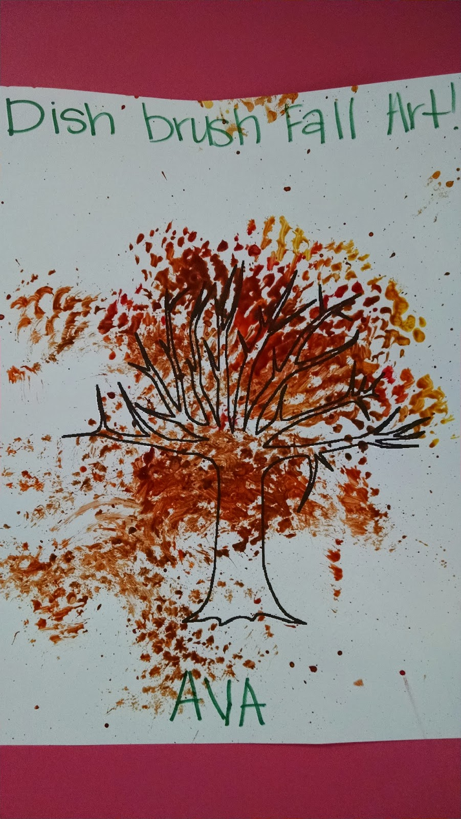 fall tree daycare