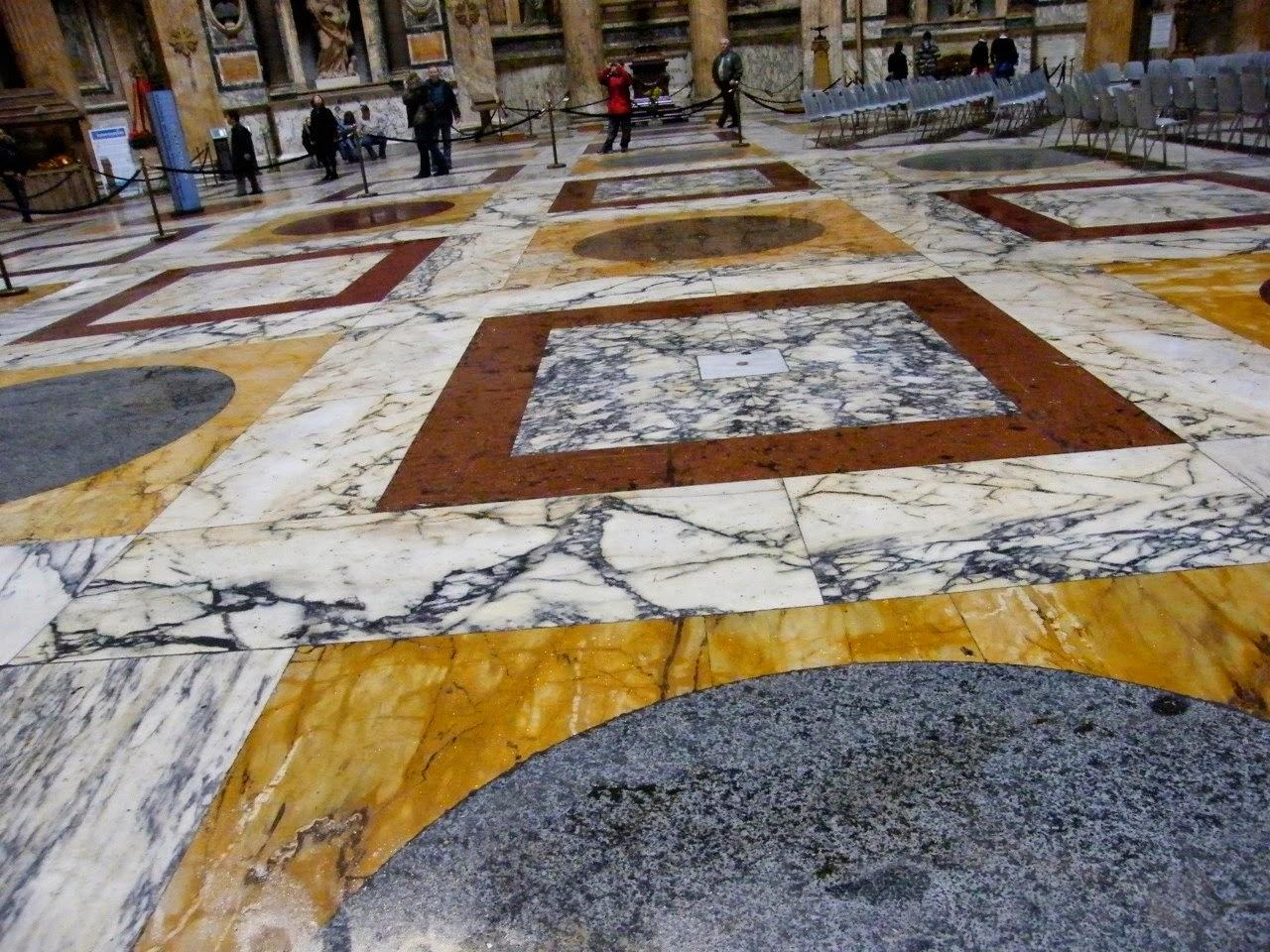 Il Blog di Fabrizio Falconi: L'enigma del pavimento del Pantheon ...