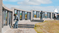 Islas Malvinas - Cementerio Militar de Darwin