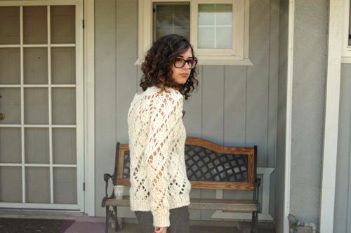 Sew Knit Me Marshmallow Lace Free Knitting Pattern