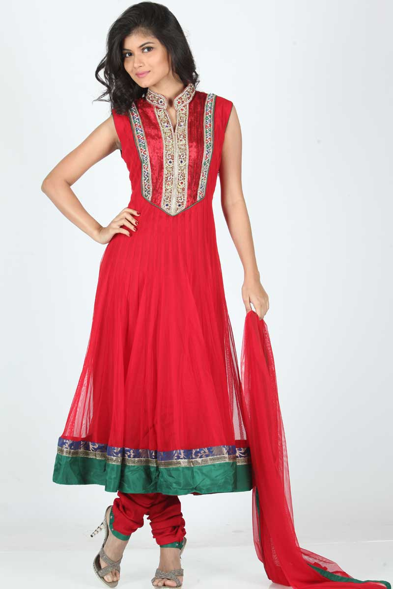 Anarkali Churidar Suits Latest Fashion Today