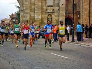 carrera por relevos camino de santiago
