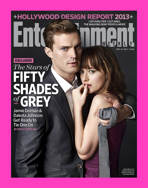 Jamie Dornan covers Entertainment Weekly as 'Christian Grey'